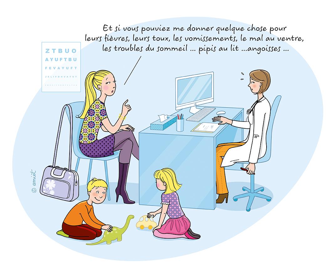 Le pédiatre n'est pas magicien