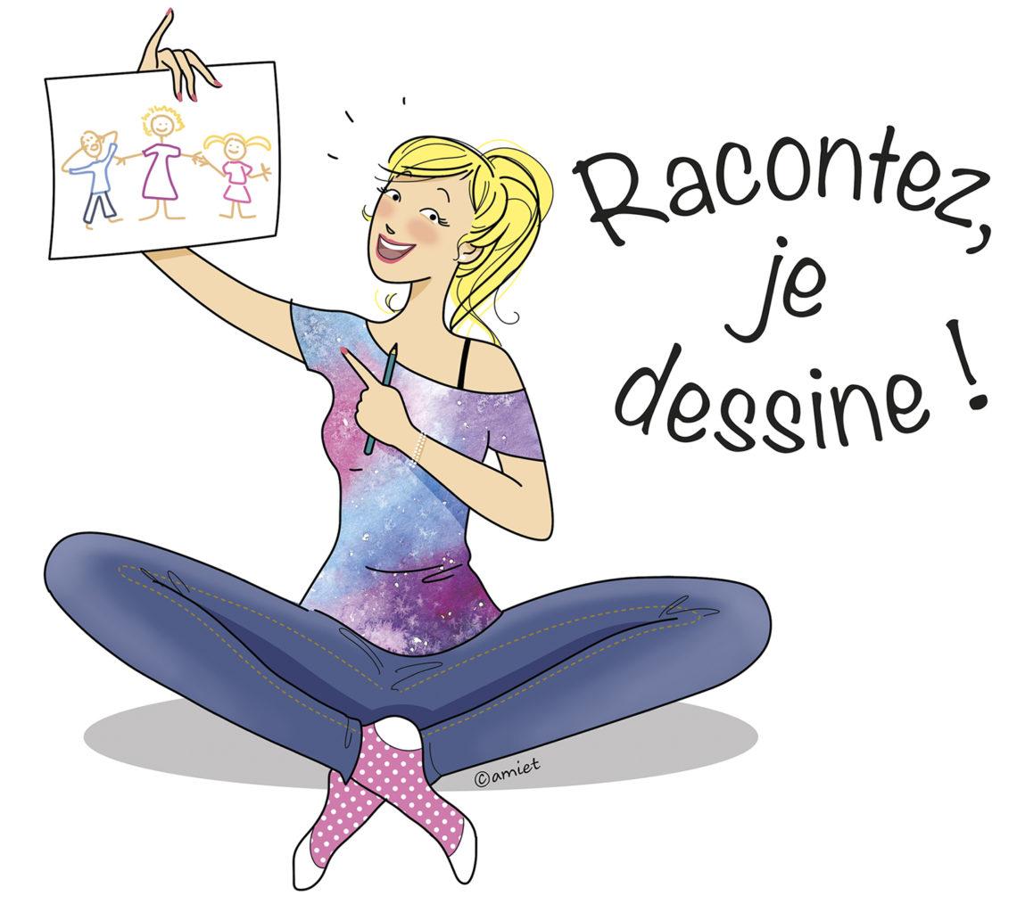 Racontez, je dessine, Christelle Amiet.