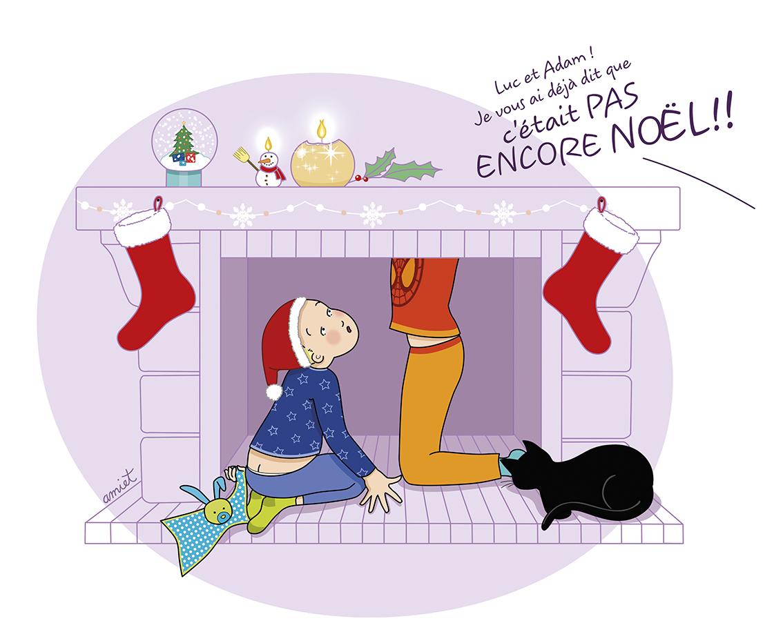 Magie de Noël ? Les enfants impatients