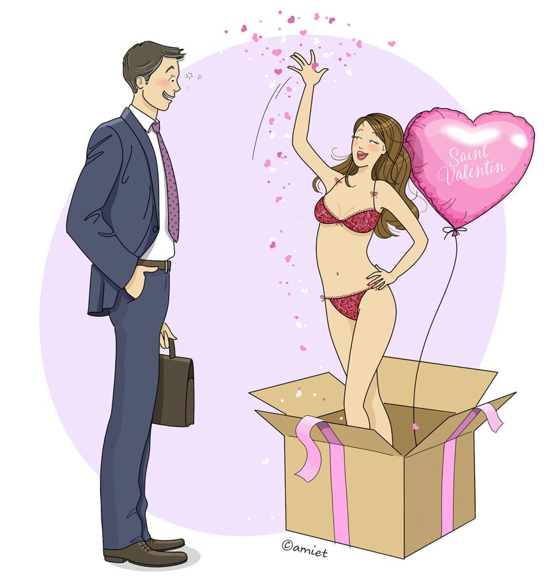 Saint Valentin homme