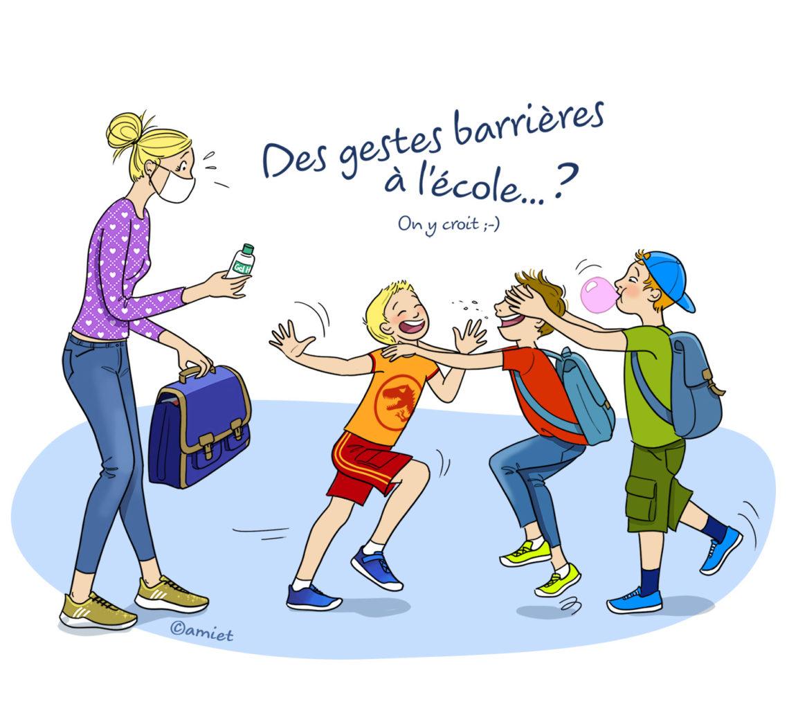Déconfinement et gestes barrières